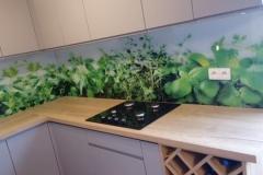 szkło w kuchni z nadrukiem